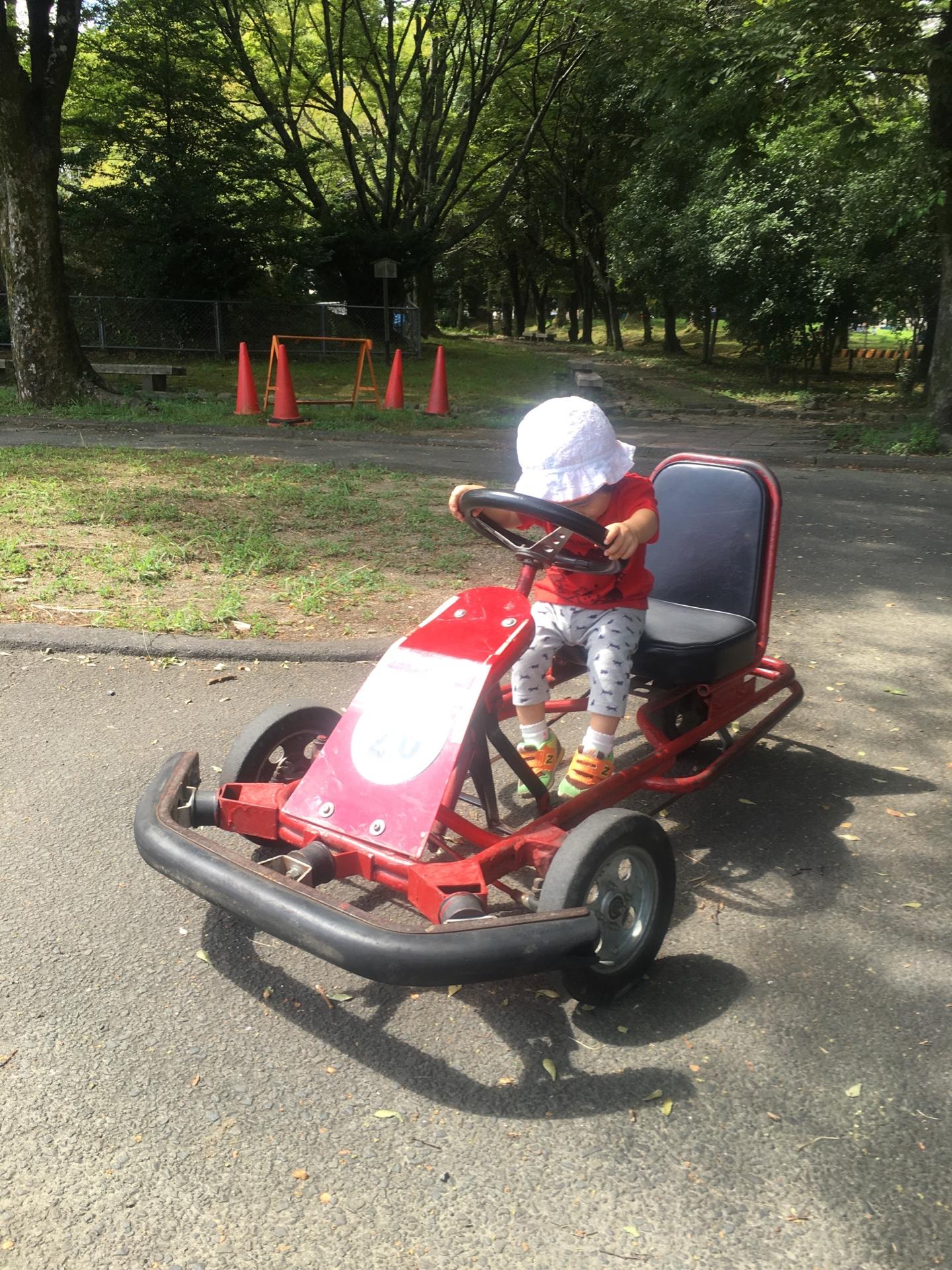 親子でゴーカートが乗れる京都でおすすめの公園『大宮交通公園』